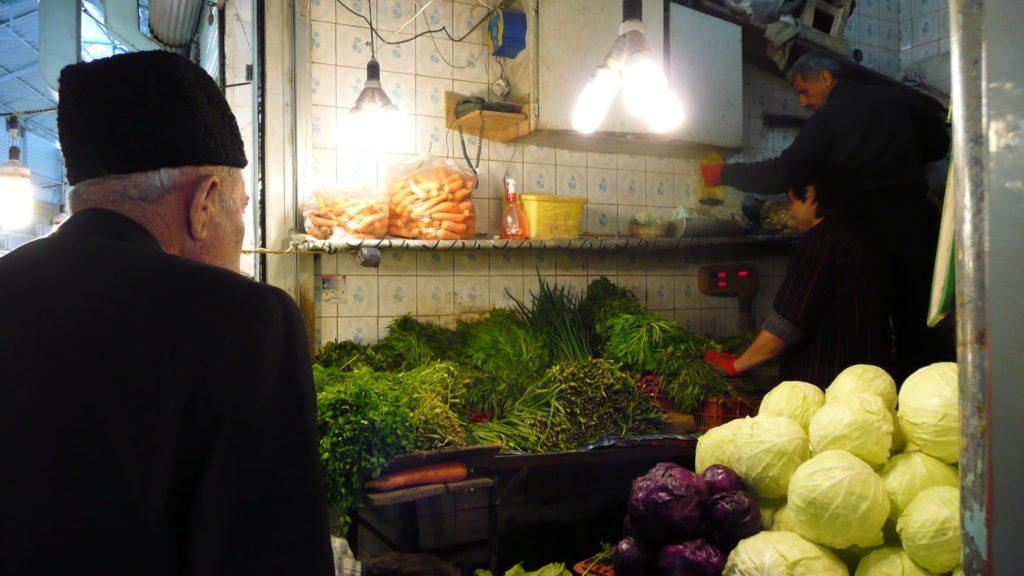 An Herb shop in Tabriz Bazaar