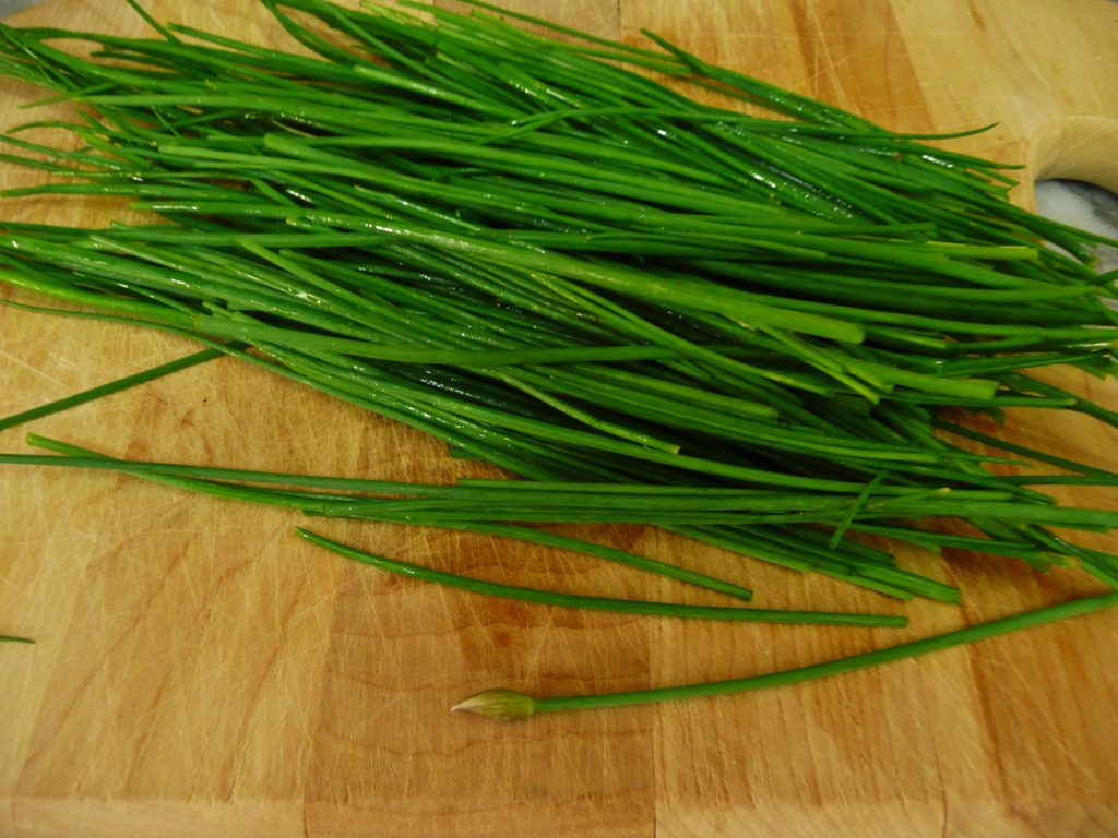 how to prepare fresh chives