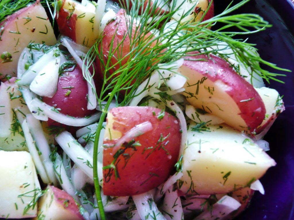 POTATO DILL SALAD