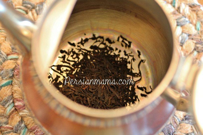 How to Make Persian Tea