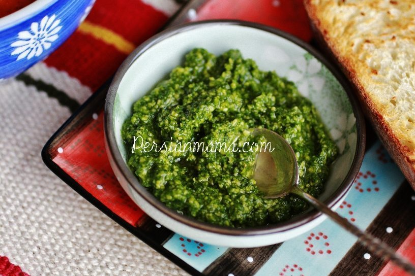 PESTO SAUCE WITHOUT NUTS