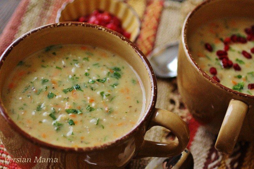 Soup Jo | Cream of Barley Soup