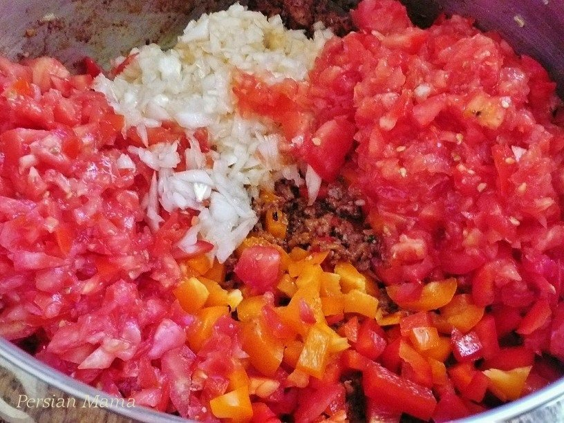 add fresh veggies