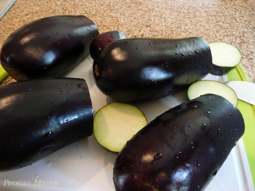 globe eggplants