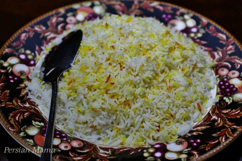 Persian Steamed Rice