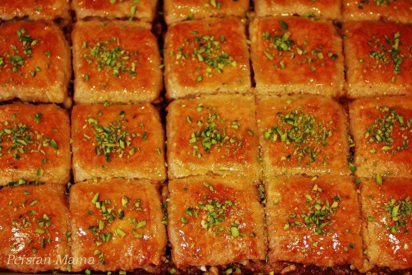 BAKLAVA CAKEBAGHLAVA CAKE Persian Mama