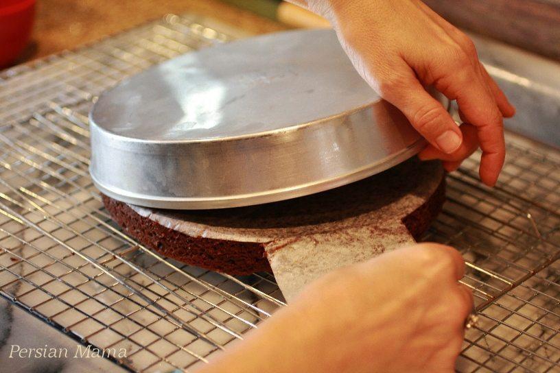 invert the cake