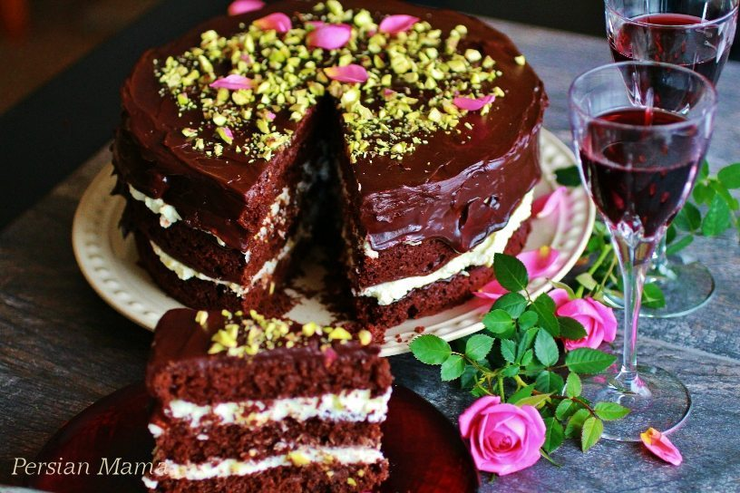 Chocolate Sweetheart Cake