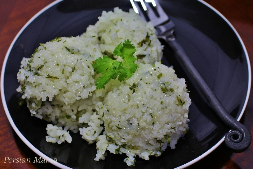 Sticky Herb Rice