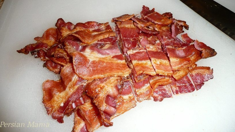 chopped bacon for how to