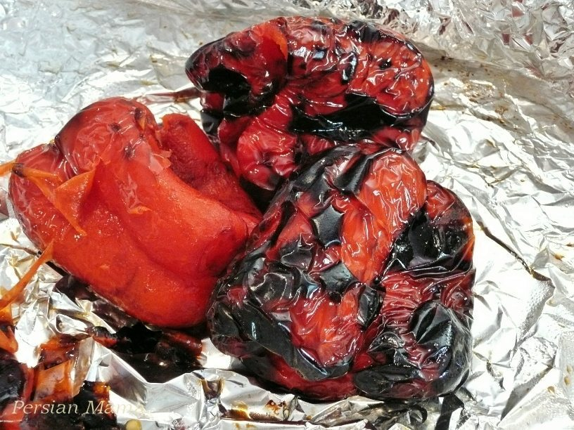 roasted bell peppers 5