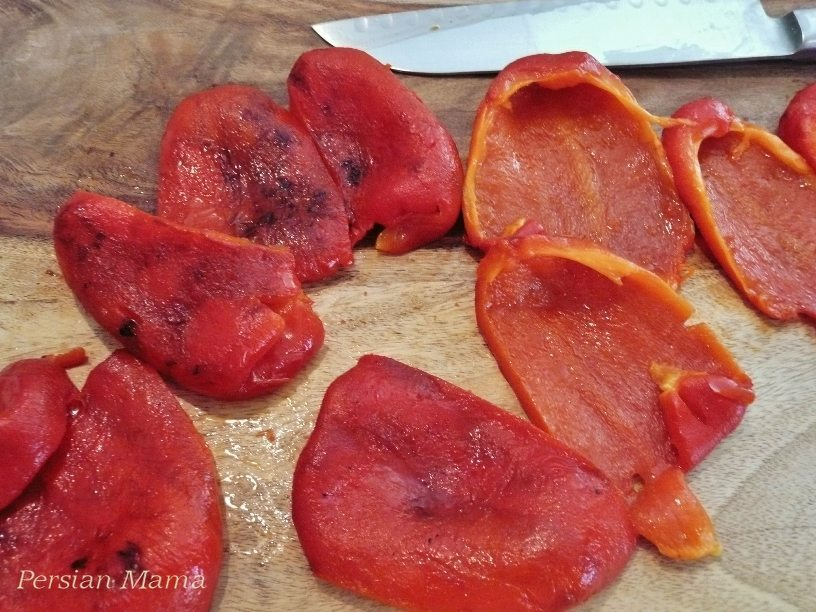 roasted bell peppers 6