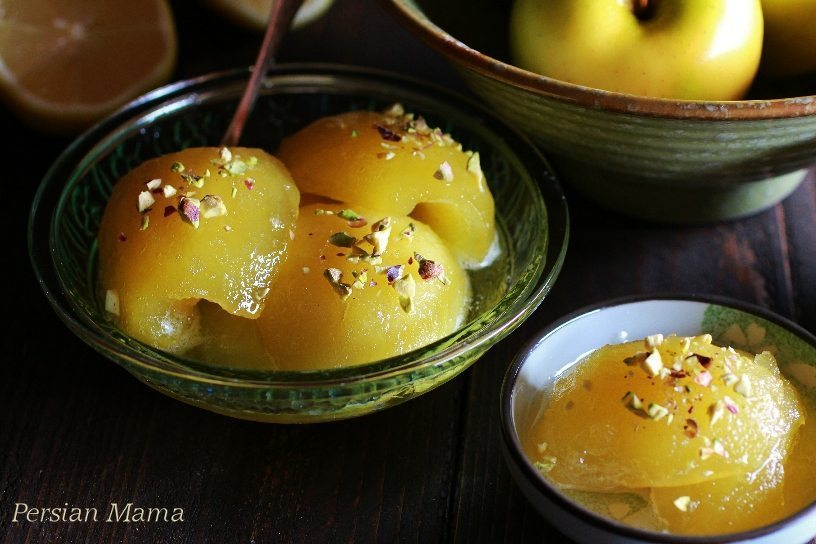 MORABA YE SEEB مربای سیب | APPLE PRESERVES