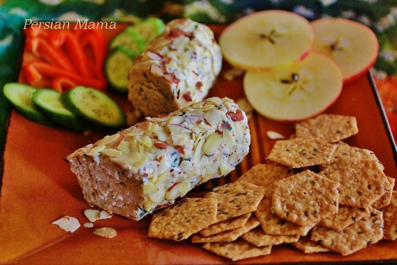Spicy Herb Cheese Log