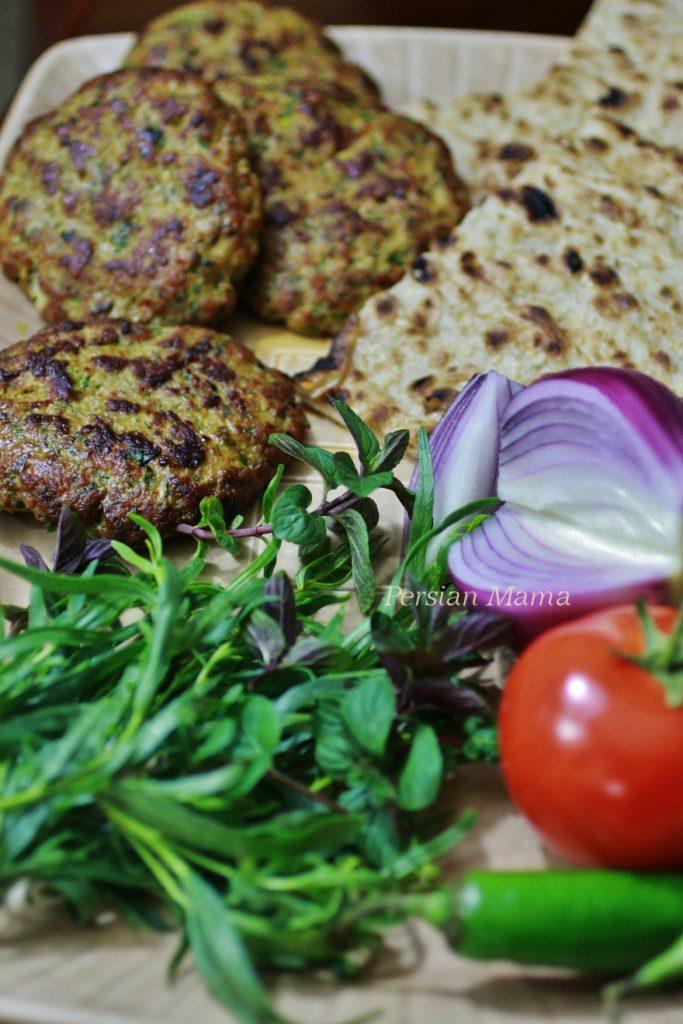 Turkey And Herb Kabobs