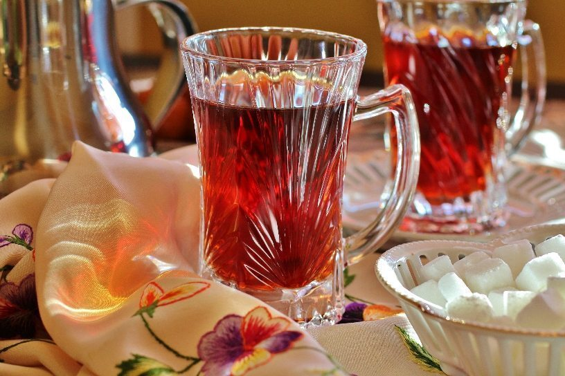 Brewed Persian Tea