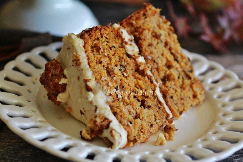 Carrot Cake - Cake Havij