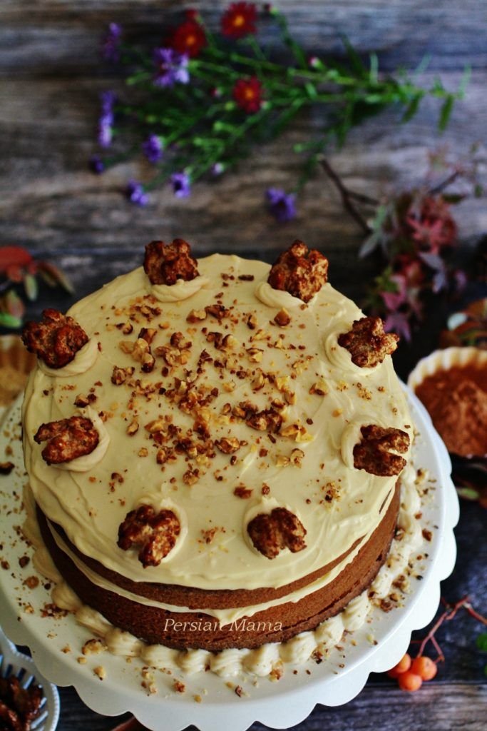 Carrot Cake - Cake Havij