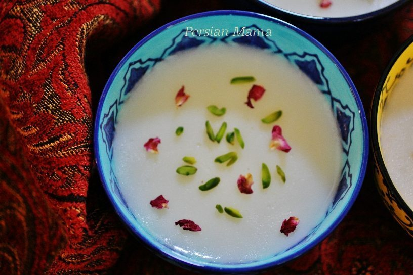 Tabrizi Palda - Azeri Wheat Custard