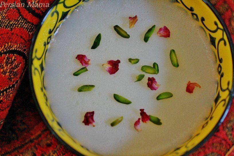 Tabrizi Palda - Azeri Wheat Custard