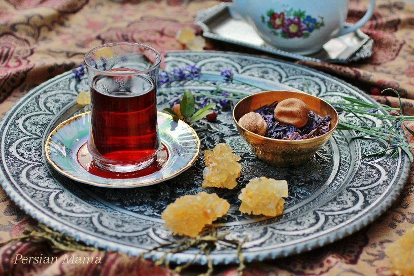 CHAI GOL GAVZABAN گل گاوزبان | BREWED BORAGE TEA