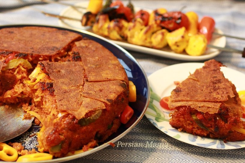 Kateh Gojeh Farangi | Tomato Rice