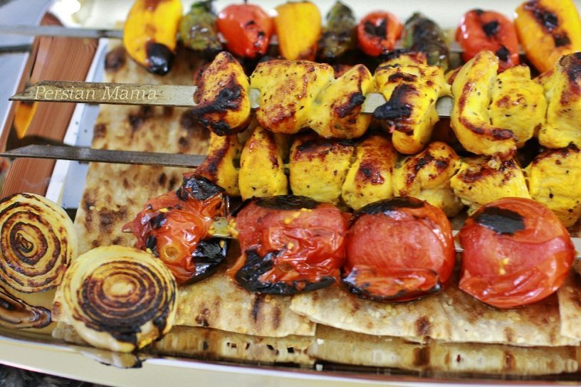 ... KABOB جوجه کباب | GRILLED SAFFRON CHICKEN – Persian Mama