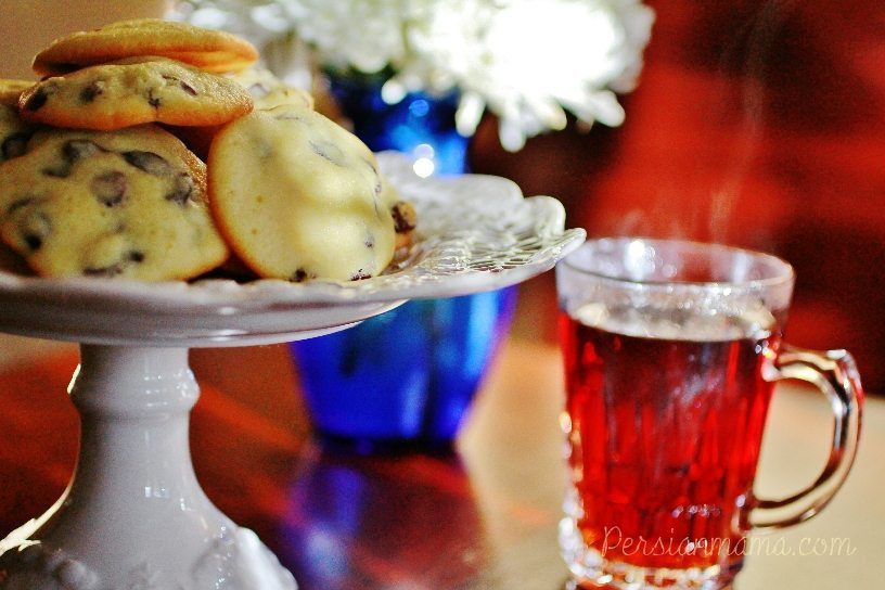 Shirini Keshmeshi - Persian Raisin Cookies 2