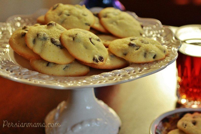 Shirini Keshmeshi - Persian Raisin Cookies 4