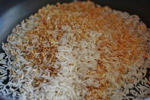 rice and bulgur