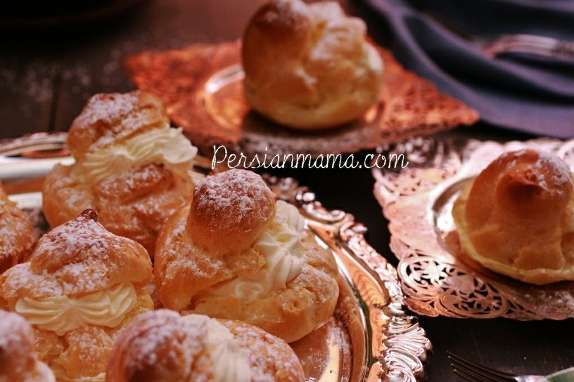 NOON KHAMEI نون خامه ای | PERSIAN CREAM PUFFS