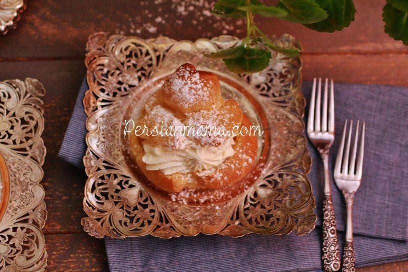 Noon Khamei | Persian Cream Puffs