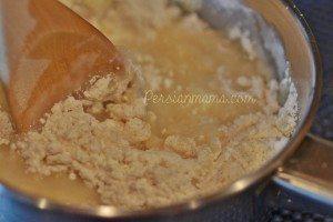 flour mixed