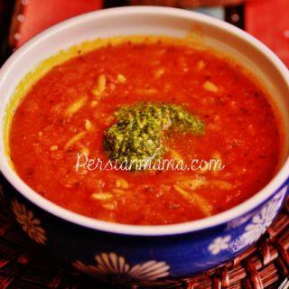Tomato Basil Soup 4