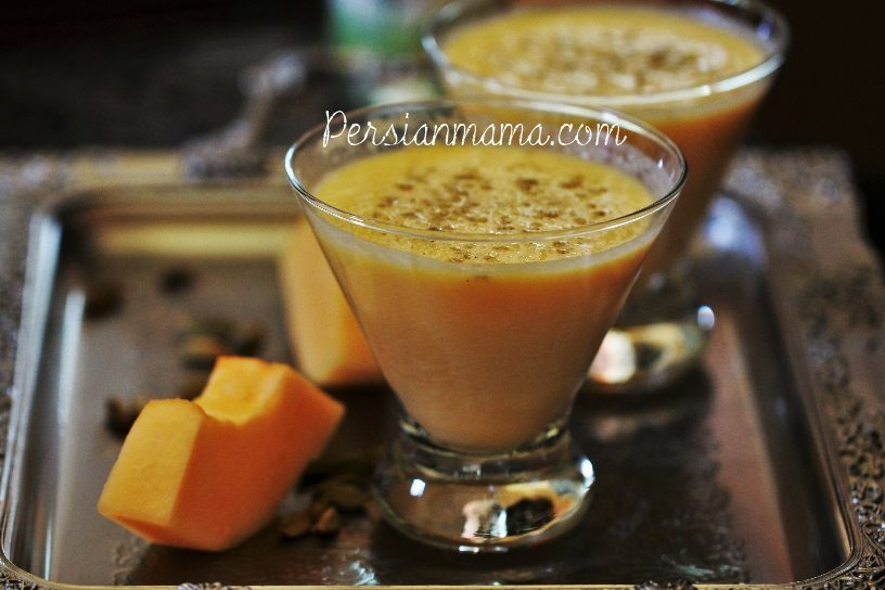 Aab Talebi | Cantaloupe Smoothie