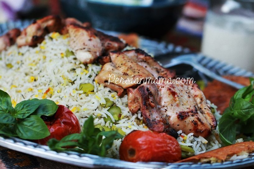 JOOJEH KABOB | GRILLED CHICKEN THIGHS