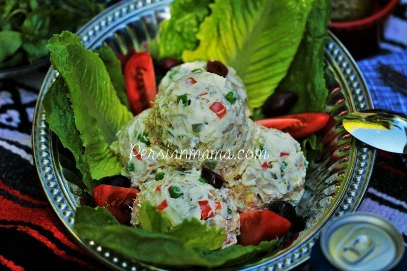 SALAD OLIVIEH | PERSIAN CHICKEN SALAD