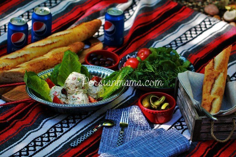 Salad Olivieh | Persian chicken salad