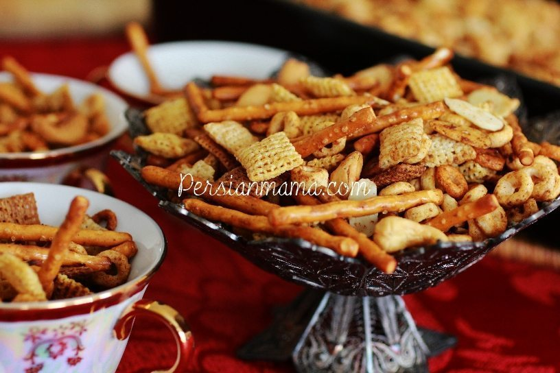 Spicy Holiday Chex Mix