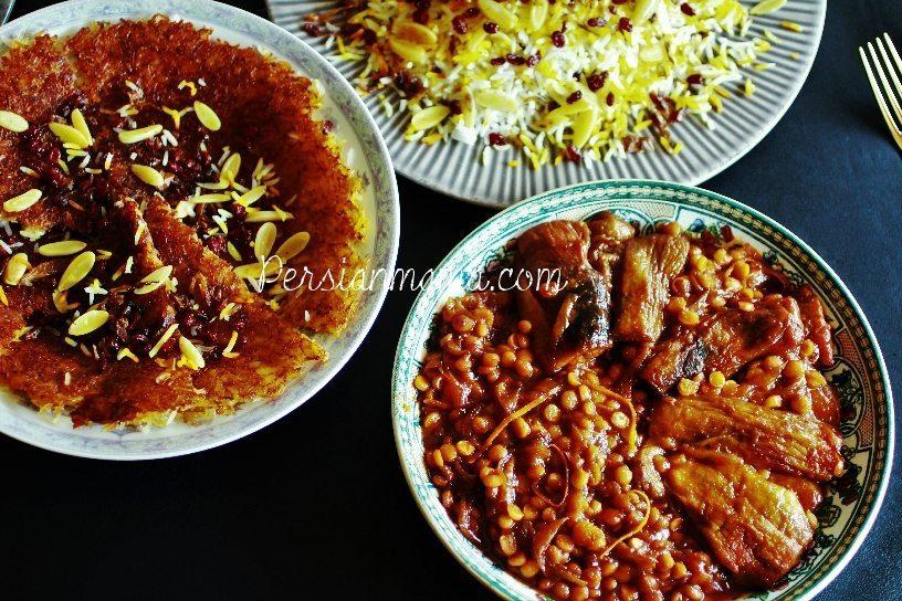 Vegetarian Khoresh Bademjan