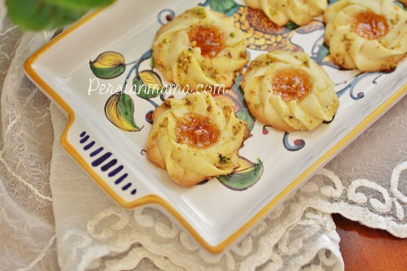 Shirni Morabaii is a Persian favorite cookie for Nowruz