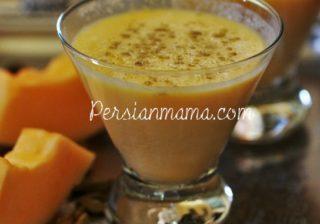 Cantaloupe Smoothie 4