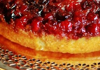 Cranberry Upside Down Cake 3