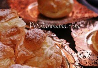 Persian Cream Puffs 5